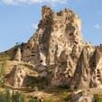 トルコ、カッパドキア。ギョレメ国立公園。