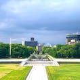 時間過ぎてしまっていますが、6月に訪れ資料館から撮った広島の写真と共に黙祷を捧げます。