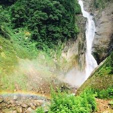 2020.8.9 称名滝と虹