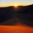 デューン45、ナミビア 日の出