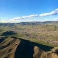 【モンゴル🇲🇳】ウランバートル  飛行機から いい感じの丘陵  #モンゴル° #2017/07