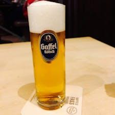 ケルシュ。ケルンでのはしご酒😗  Gaffel