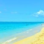 モーリシャス、ル・モーン パブリックビーチ。 美しい海が。。。