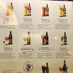ビールによってグラスも変えるって、並々ならないビールへの拘りが感じられます。