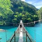 """""""夢の吊橋"""" 本当に綺麗すぎました。"""