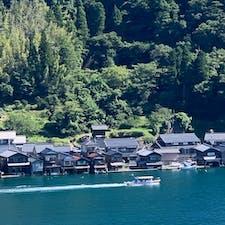 京都府の北部、伊根町の舟屋群 いつもと違う夏は、私の知らなかった 京都に出会えた夏でした。 #伊根町 #舟屋