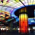 台湾 高雄 美麗島駅 時間で光のショーも開催されます。