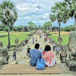 カンボジア、アンコールワット。