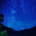 上高地大正池からの星空🌟流れ星もたくさん見えました😃