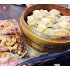 台北の寧夏夜市 蒸し餃子美味しくて一人で完食。
