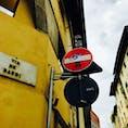 イタリア・フィレンツェ 標識アート あちこちおしゃれ