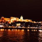 ブダペスト  ドナウ川からの国会議事堂