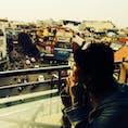 【ベトナム/ハノイ】 街を一望できるカフェからの眺め。