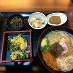 郷土料理 五志喜  愛媛の郷土料理、鯛そうめん🎐 二階もあって広くて居心地良かったです😉