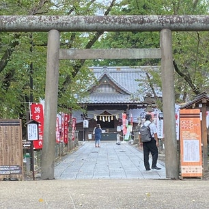 長野県上田市にある上田城内の眞田神社⛩ 一番最初に目に入ったのが、「ポケモントレーナーの皆さんへ」だったw