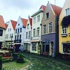 Snoor @ Bremen 建物の色合いがパステルカラーで とっても可愛かったシュノール地区  May. 2017