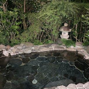 源泉かけ流し露天風呂