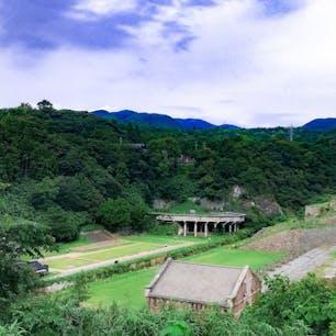 佐渡島 北沢浮遊選鉱場 ラピュタの世界に迷い込んだような空間