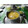 アヒアコと言うジャガイモのスープ