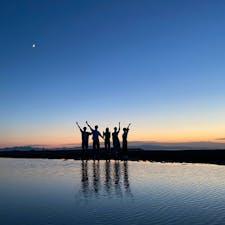 真玉海岸 ここはまた行きたい。 日の入り後の星も非常に綺麗でオススメ。