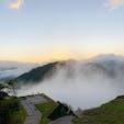 雲海しっかり見れた👏 朝から山登りはキツい笑  #竹田城跡 #雲海