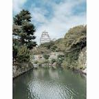 このアングルの姫路城めっちゃ好き!!  #姫路城 #兵庫