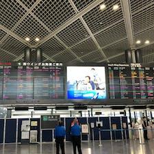 2020年3月中旬、成田空港出発ロビー スタッフの方しか見あたらず。 あれからあっという間に半年が過ぎ。。。