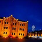 赤レンガ倉庫とランドマークタワー