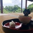07/10/20 @玄宮園 #埋れ木とお抹茶と庭園 #おいしい旅日記