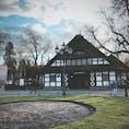 ベルリン 地下鉄U3のDahlem-Dorf駅 ベルリン自由大学最寄駅 古民家ではありません。駅舎です。