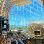 ⋆⸜ Hilton fukuoka seahawk ⸝⋆  ヒルトン福岡 シアラ 🍽 ビュッフェを楽しむことが出来る場所です🥂 太陽の光が差し込んで気持ちがいい🌞🌈💖  #福岡
