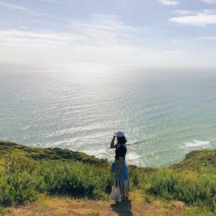 📍New Zealand   Piha  ✈︎ 2019.01  [ M e r c e r  T r a c k ]  ピハビーチ近くの絶景ハイキングコース。 1時間弱でまわれるからお散歩気分で歩ける🚶♀️