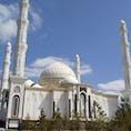 カザフスタンは基本的にイスラム教 美しいモスクが沢山あります。