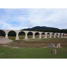 北海道 タウシュベツ橋梁