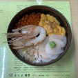 きくよ食堂 函館朝市  7種類の中から選ぶ4種盛りを食べました!ゼッタイ的に雲丹ほたてカニいくら!