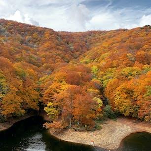 紅葉🍁🍁 桧原湖周辺