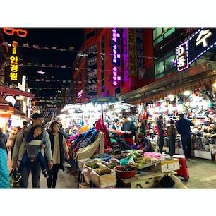【韓国🇰🇷】南大門市場  ごちゃごちゃしててアジアを感じた。  #韓国° #2018/10/26