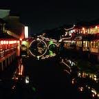 上海、七宝。チーバオに近い発音かと。中心から簡単に行ける水郷の街。