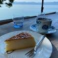 シャーレ水ヶ浜。晴れてて琵琶湖綺麗><