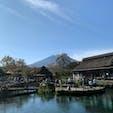 忍野八海/山梨 富士山も綺麗に見れました🤗