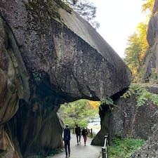 山梨 昇仙峡🍁 紅葉はまだこれからです