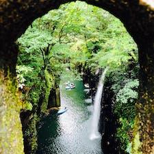 宮崎旅行 高千穂峡 真名井の滝