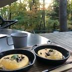 星のや富士 森のひととき 自然を感じながらコーヒーとバームクーヘンをいただきました。