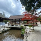 橋殿  橋は舞殿とか、橋殿と言われて居ます。 此の橋は見た感じ建物ですが、間違い無しの橋です。  #日本百名橋 #全国橋巡り #サント芹沢鴨の写真 #京都