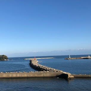2020.11.14 氷見乃江公園展望台から見た富山湾と立山連峰