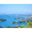 ☝︎石岳展望台からの景色
