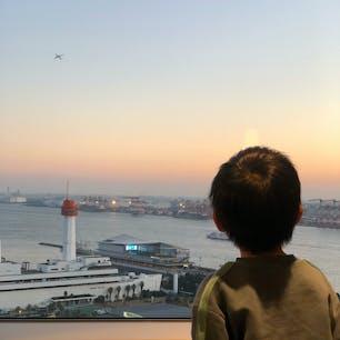 羽田空港✈️ 東京港🚢 首都高🚗 ゆりかもめ🚆  客室からの眺望が4歳児興奮の乗り物天国