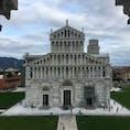 ピサ大聖堂 洗礼堂からの眺め