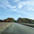 さくら湖にかかる蛇沢大橋