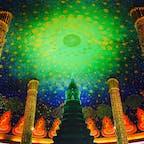 写真映えスポットで有名、バンコクにあるワット・パクナム